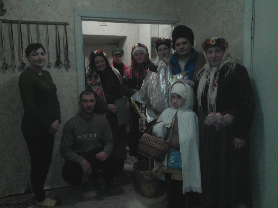 Альбом: 7 січня на території Нечволодівської сільської ради проведено святкування Різдва Нечволодівським сільським клубом.